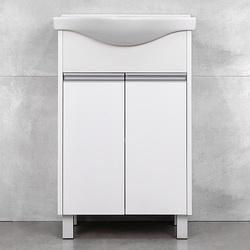 Мебель Элина тумба либра белый структурный 60